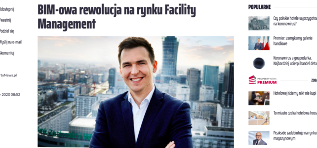 Interview (PL) – BIM revolution of FM industry